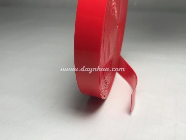 Dây nhựa 15mm Đỏ mờ-0066