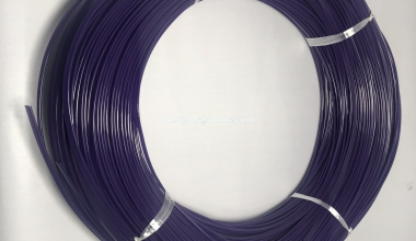 Dây tròn 2mm Purple - 0063