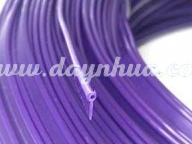 Dây lé 2,5mm cánh 5mm Purple - 0050