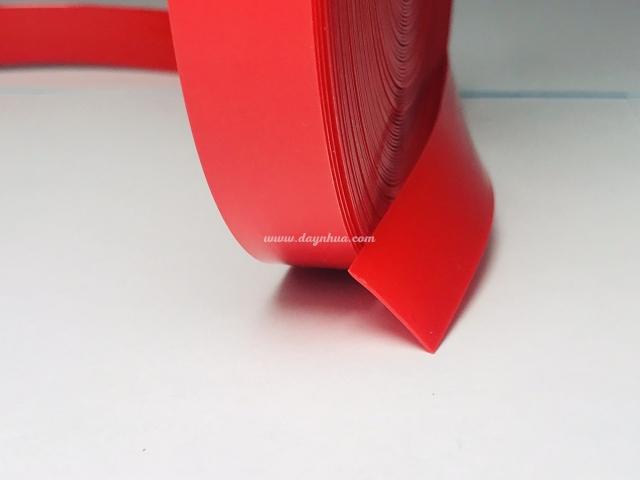 Dây nhựa 25mm 50% Soft Đỏ mờ-0042